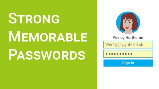Strong memorable passwords